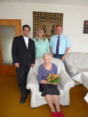 Foto zu Meldung: Alma Scheider feierte ihren 80. Geburtstag