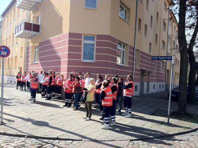 """Foto zur Meldung: Ausbilsungstag """"Teschnische Rettung"""" in Rathenow"""