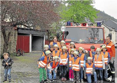 Foto zur Meldung: Freiwillige Feuerwehr: Die Löschzwerge  zeigen bei Feuerwehrfest ihr Können