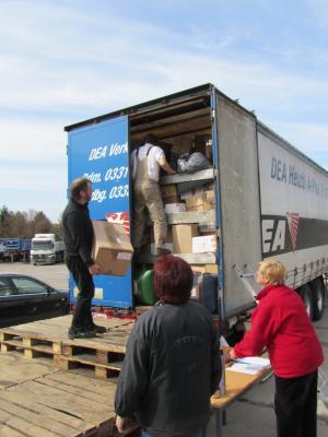 Foto zu Meldung: 42. Hilfstransport nach Litauen hat die Empfänger erreicht