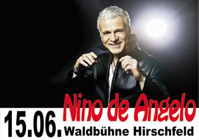 Foto zur Meldung: Deutsche Schlagernacht mit Nino de Angelo am 15. Juni 2013