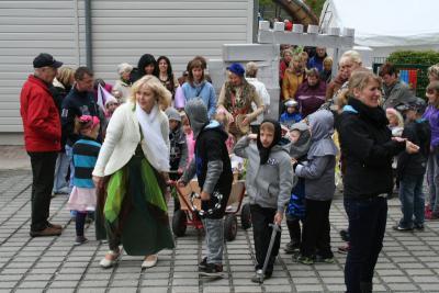 Foto zur Meldung: 1. Ritterfest in der Kita Rappelkiste