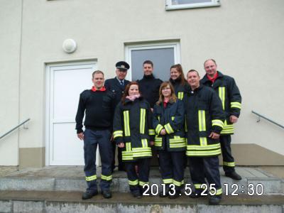 Foto zur Meldung: 90 Jahre Feuerwehr Stölln