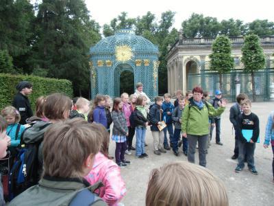 Foto zur Meldung: 4. Klassen auf Brandenburg-Tour