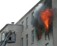 Vorschaubild zur Meldung: Hotel auf Borkum ausgebrannt - Keine Toten oder Verletzten