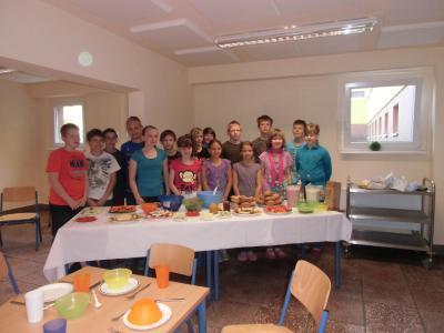 Foto zur Meldung: Klasse Klassenfrühstück