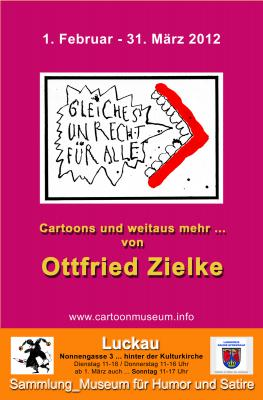 """Vorschaubild zur Meldung: """"Gleiches Unrecht für alle!"""" _Cartoons und weitaus mehr von Ottfried Zielke"""