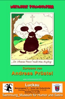 """Vorschaubild zur Meldung: """"Normaler Schwachsinn"""" _Cartoons von Andreas Prüstel"""