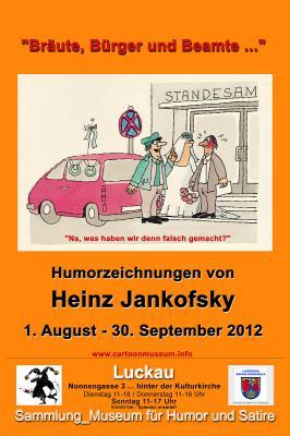 """Vorschaubild zur Meldung: """"BRÄUTE, BÜRGER und BEAMTE ..."""" _Humorzeichnungen von Heinz Jankofsky (1935-2002)"""