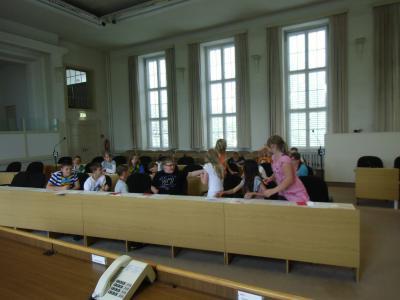 Foto zur Meldung: Projekttag Klasse 5 - Landtag in Potsdam