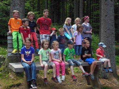 Foto zur Meldung: Großer Familientag beim Kindergarten