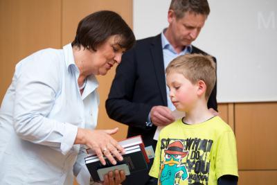 Foto zur Meldung: Auszeichnung an der Otto von Guericke Universität Magdeburg