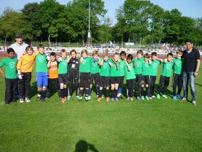 Foto zur Meldung: Fußballturnier der Kaarster Grundschulen