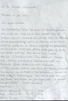 Foto zur Meldung: 10.Pro Potsdam Schlösserlauf
