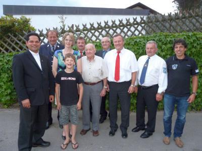 Foto zur Meldung: Der Begründer des Busunternehmens Haimerl feierte 80. Wiegenfest
