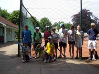 Foto zur Meldung: Tennisspieler kämpften um Medaillen