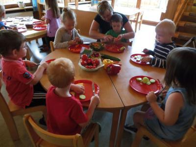 Foto zur Meldung: Brot backen und gesunde Brotzeit