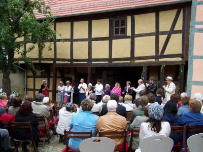 Foto zur Meldung: Jubiläumsfest zum 50. Geburtstag des Museums Wusterhausen