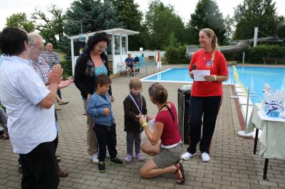 Foto zu Meldung: Endlich wieder Leben im Bad - Rekordergebnisse und großartige Stimmung beim 24 h Schwimmen in Tröbitz