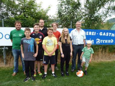 Foto zur Meldung: Sieben junge Schiedsrichter wurden ausgebildet