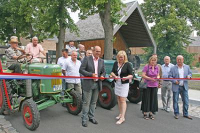 Foto zu Meldung: Breitscheidstraße fertig ausgebaut und offiziell eingeweiht
