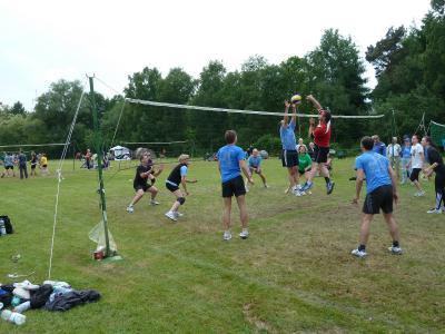 Foto zu Meldung: Sonnenseespiele Volleyball - Juni 2013
