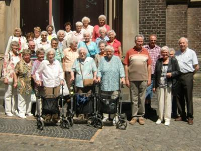 Foto zur Meldung: Johanneshaus-Senioren besuchen Kevelaer