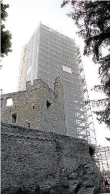 Foto zur Meldung: Ortsgemeinde: Burgsanierung - Finanzplan vorgelegt