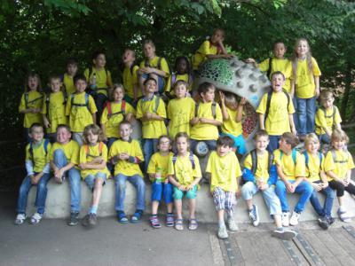 Foto zur Meldung: Ausflug in den Märchengarten