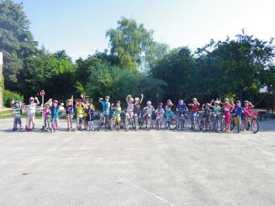 Foto zur Meldung: Radfahrtraining 2013