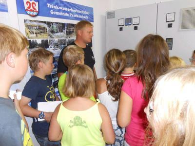Foto zur Meldung: Großes Thema Wasser bei der vierten Klasse