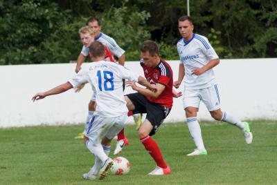 Foto zu Meldung: Landesliga: BSC Saas Bayreuth - FC Vorwärts Röslau 1:1 (1:1)