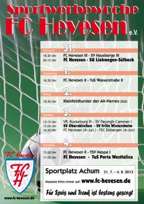 Foto zur Meldung: Sporttage 2013 - FC Hevesen