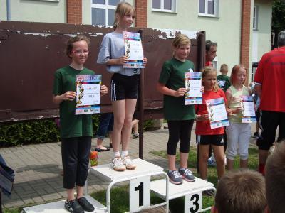 Foto zur Meldung: Landkreispokalwettkämpfen der Leichtathletik