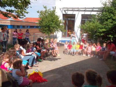 Foto zur Meldung: Abschlussfeier vom Kindergartenjahr