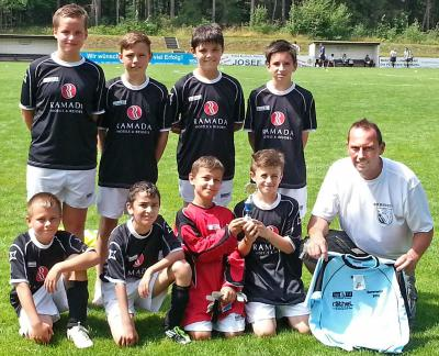 Foto zu Meldung: E-Jugend belegt Platz 2 beim Skoda-Cup in Bindlach