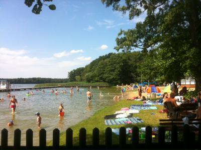 Foto zu Meldung: Verlängerte Öffnungszeiten im Strandbad Wusterhausen