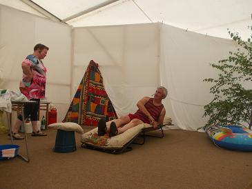 Foto zu Meldung: Rückblick auf das Dorffest 2013