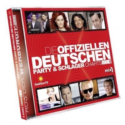 Vorschaubild zur Meldung: Doppel CD - Die Offiziellen Deutschen Party &Schlager Charts