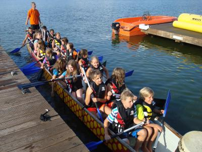 Foto zu Meldung: Drachenbootrennen 2013