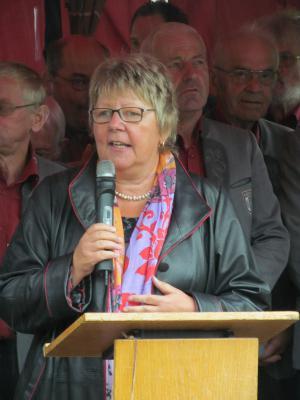Unser Ehrengast: die Präsidentin des Deutschen Kneipp-Bundes e.V, Frau Marion Caspers-Merk