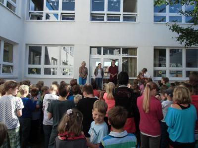 Foto zur Meldung: Herzlich willkommen!