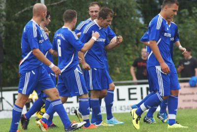 Foto zu Meldung: Landesliga: FC Trogen - FC Vorwärts 1:2 (1:1)