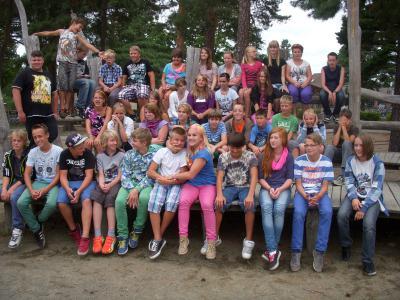 Foto zu Meldung: Kennenlernwoche in der Grund- und Oberschule Schenkenland