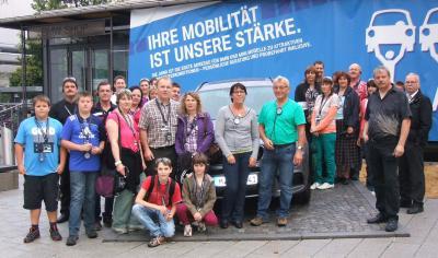 Foto zu Meldung: Edelweißschützen erkundeten BMW-Werk