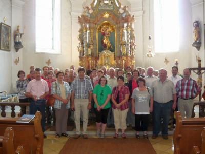 Foto zur Meldung: Besuch aus der Oberpfalz