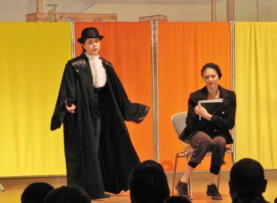 Vorschaubild zur Meldung: Lernen für die Bühne - Schauspielschule beginnt wieder