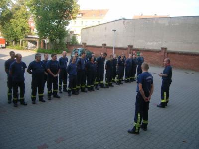 Vorschaubild zur Meldung: Wochenendausbildung der Feuerwehr Rathenow 2013