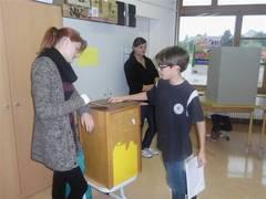 Foto zur Meldung: Die Schüler der sechsten Klassen haben gewählt