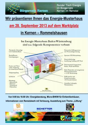 Energietag 28.9.2013